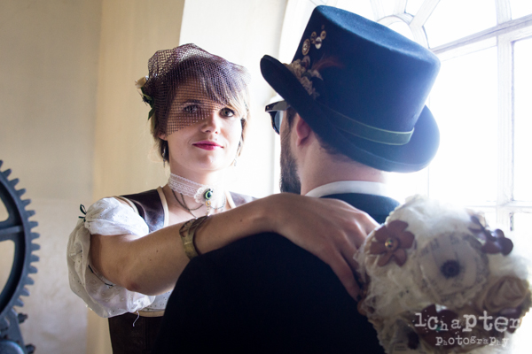 Steampunk Styled Wedding by 1Chapter Photography-21