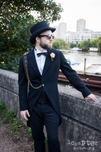 Steampunk Styled Wedding by 1Chapter Photography-38