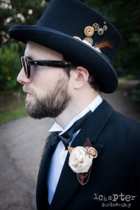 Steampunk Styled Wedding by 1Chapter Photography-40