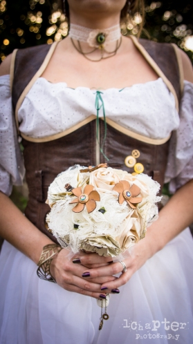 Steampunk Styled Wedding by 1Chapter Photography-47