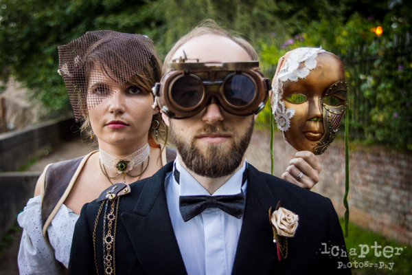 Steampunk Styled Wedding by 1Chapter Photography-54