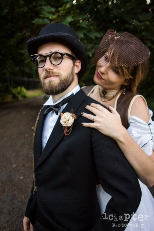 Steampunk Styled Wedding by 1Chapter Photography-56